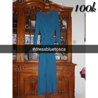 Dress Blue Tosca
