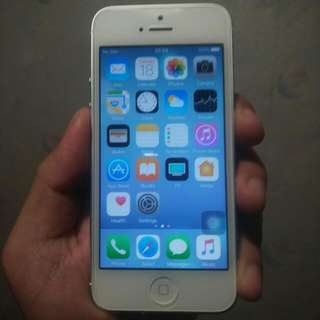 Apple iphone 5 white 16gb 98%new