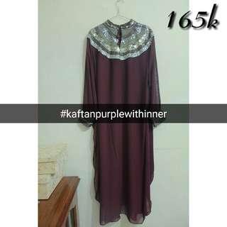 Kaftan Purple With Inner