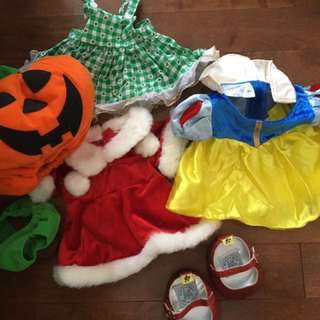 Build A Bear Holiday Costumes