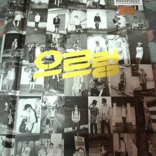 EXO 1st Repackaged Album Growl Korean Ver