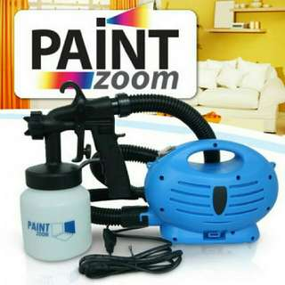 paint zoom electirc 3 way spray gund