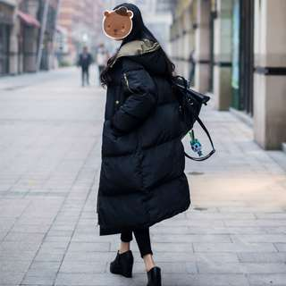 M-XXXL long parka jacket coat