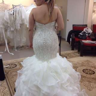 Allure Bridal Couture wedding gown