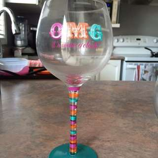 Party Wine Glass