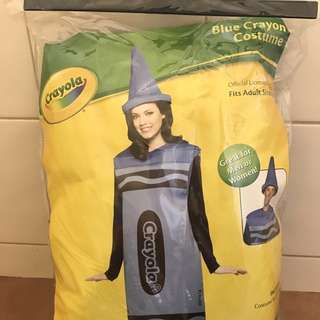 Crayon Costume Blue Size S