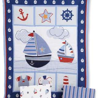 Baby Cot Cover And Comforter