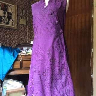 Parang Kencana batik wrap dress size XS