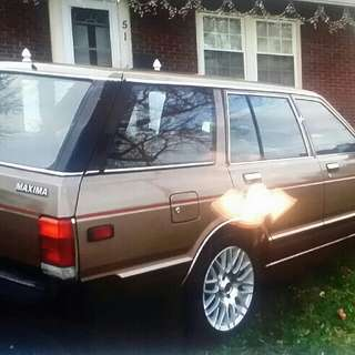 1982 Nissan Datsun wagon