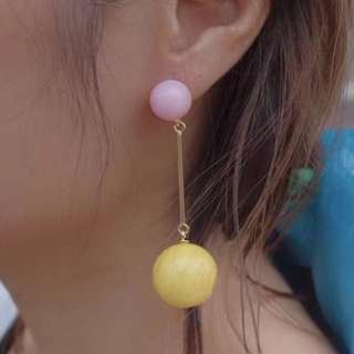 New Super Nice Earring 波型長耳環