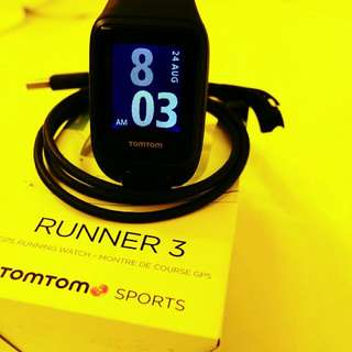 TomTom Runner 3 Fitness Tracker/Activity Tracker/Smart watch