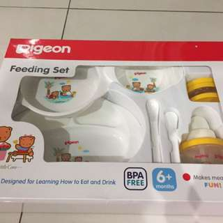 Pegeon Feeding Set