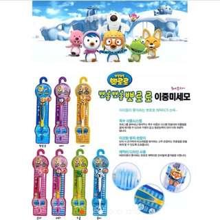 韓國正品 pororo 寶寶 / 兒童軟毛牙刷