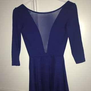 Open Back American Apparel Dress