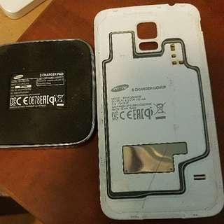 Samsung S5 wireless charger and charging pad