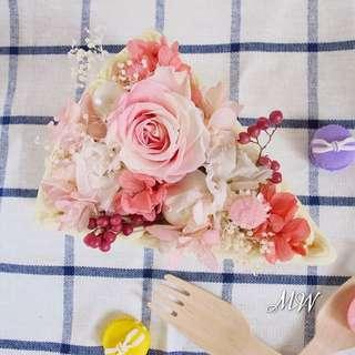 🌸三角蛋糕花禮🌸
