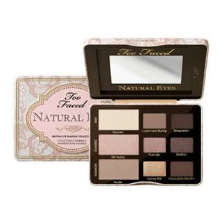 Too Faced Natural Eyes Collection Palette