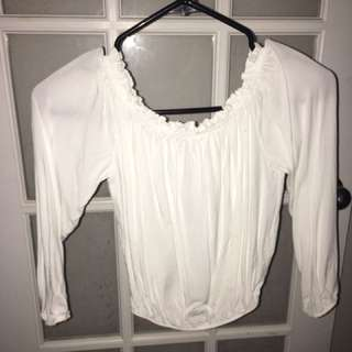 Brandy Melville Off the Shoulder Top