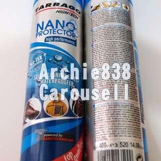 (小心假貨 請見內文400ml)  Tarrago Nano Protector 納米防水防污噴霧 (Made in Spain)