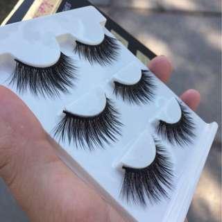 Fake Eyelashes X 3
