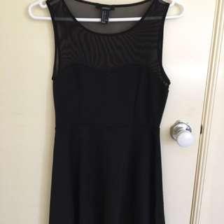 *REDUCED* Forever 21 A-line Black Dress