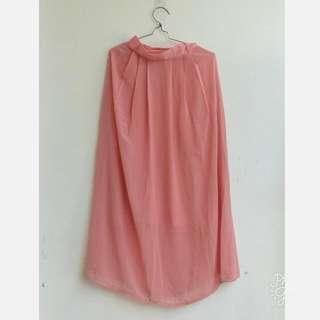 Long Skirt Pink