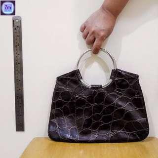 Brown Authentic Leather HandBag  (BPNO#14)