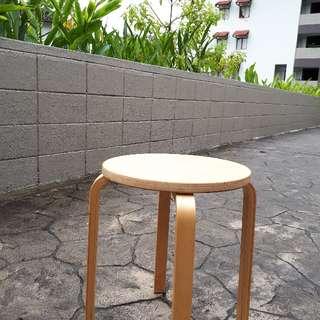 IKEA Frosta Stool, Birch Plywood