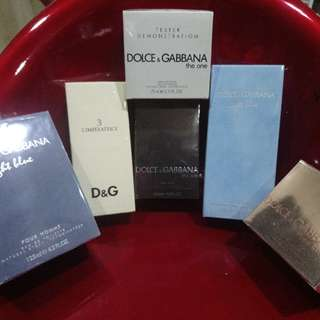 Dolce And Gabbana D&G From US Original