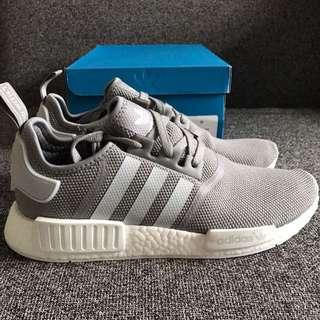 Adidas Nmd R1 Mesh Grey White US 11.5