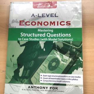 JC Economics Mastering Structured Questions To Case Studies