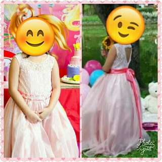 kids gown for 7-10 yrs old