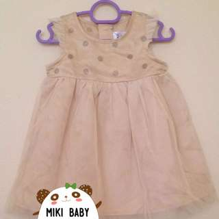 Miki Baby Champagne Dress