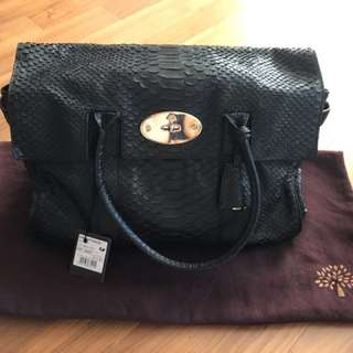 [100% Authentic] Mulberry Bayswater Black Leather