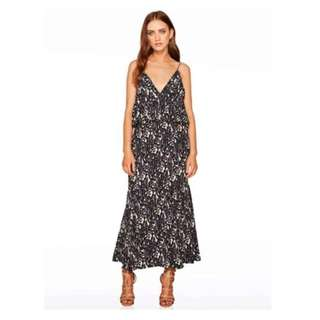 Talulah Dark Knight Maxi Dress Sz Small