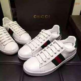 Ori Gucci White Shoes