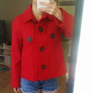 Red Jacket Size 6