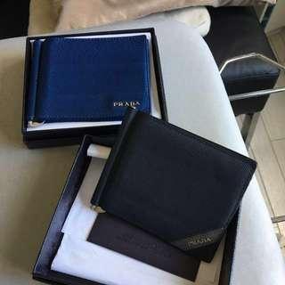 Prada Wallet with money clip