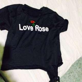 Love Rose CropTop
