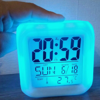 COD! Color Changing Clock