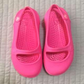❗️SALE❗️Preloved Original Crocs Pink Shoes