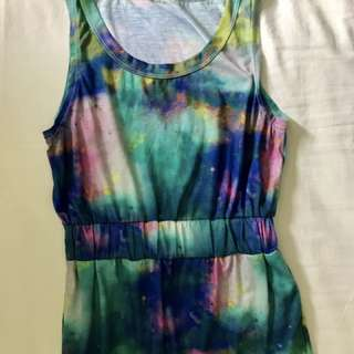 Colorful small dress
