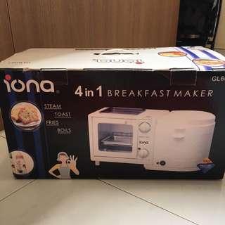 Brand New Iona 4 In 1 Breakfast Maker