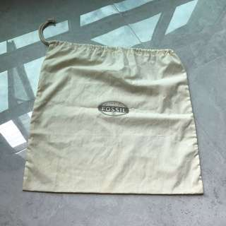 Fossil dustbag