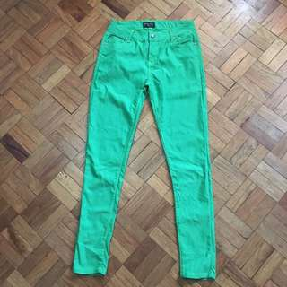 Whoops Green Jeans