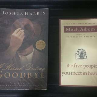 Joshua Harris & Mitch Albom books