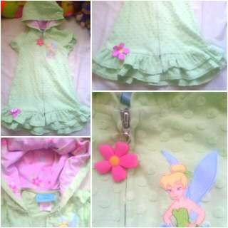 Tinkerbell Hooded Zip-up Dress / Cover