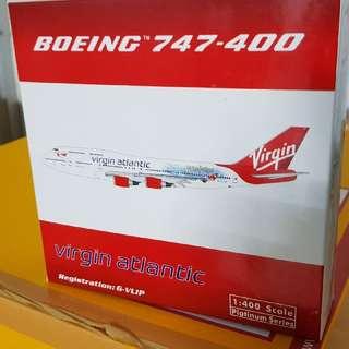 1/400 Virgin Atlantic Airlines B747-400 (Harry Porter Livery)