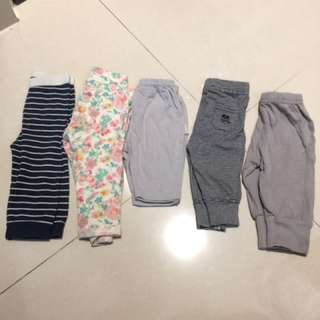 5 Pairs Leggings