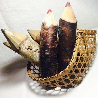 彩色木頭鉛筆(大隻)